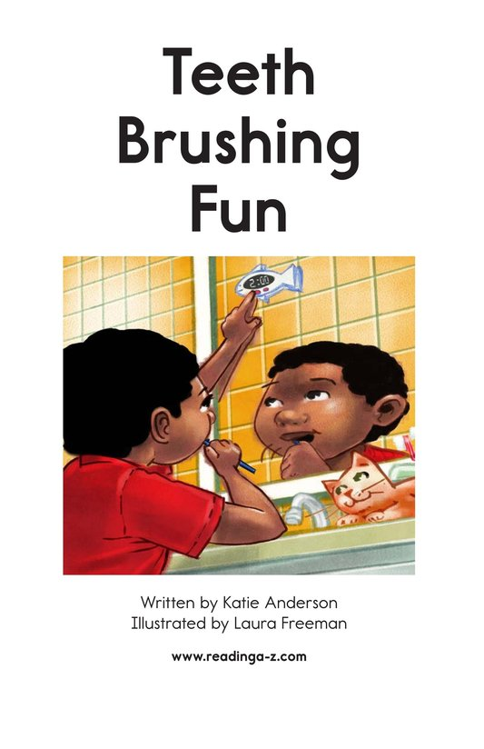 Book Preview For Teeth Brushing Fun Page 2