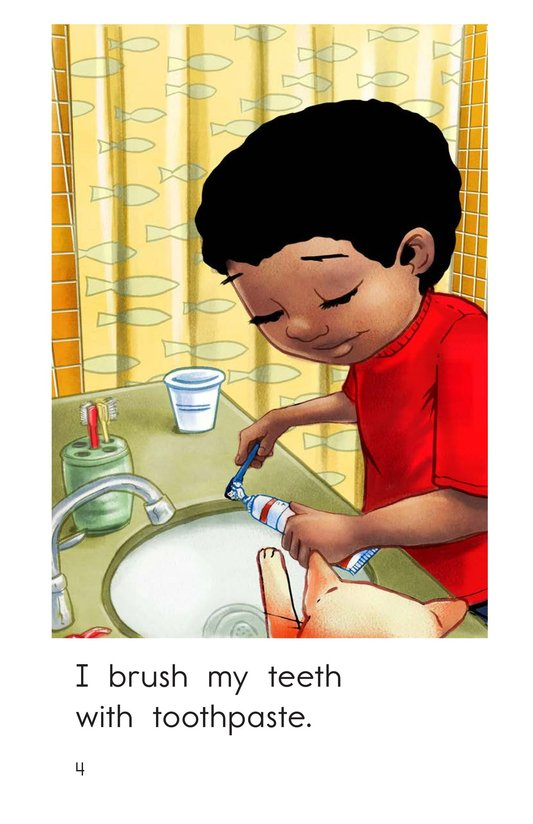 Book Preview For Teeth Brushing Fun Page 4