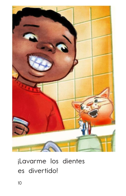 Book Preview For Teeth Brushing Fun Page 10
