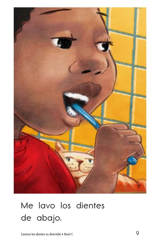 Book Preview For Teeth Brushing Fun Page 9