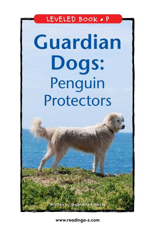 Book Preview For Guardian Dogs: Penguin Protectors Page 1