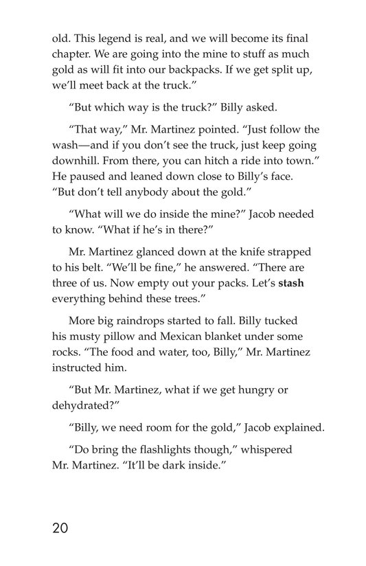 Book Preview For The Lost Dutchman Page 20