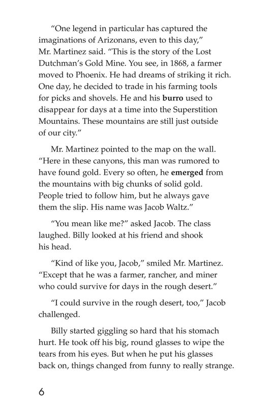 Book Preview For The Lost Dutchman Page 6