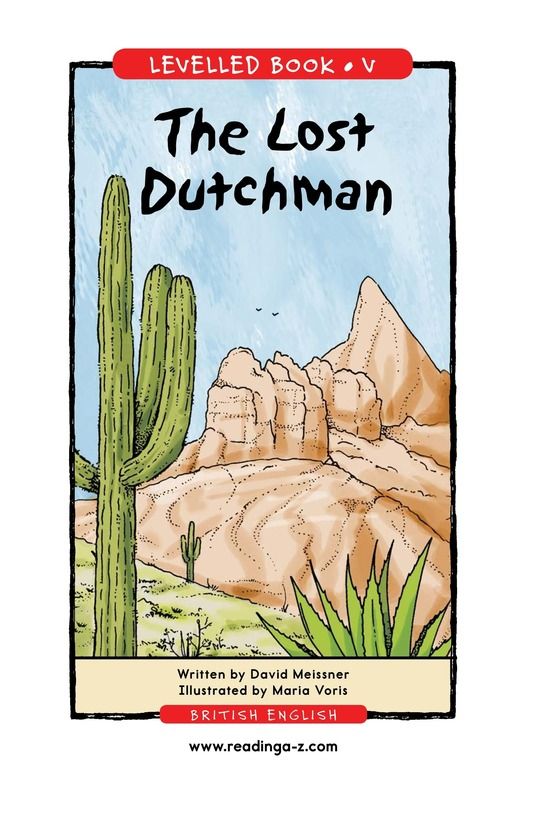 Book Preview For The Lost Dutchman Page 1