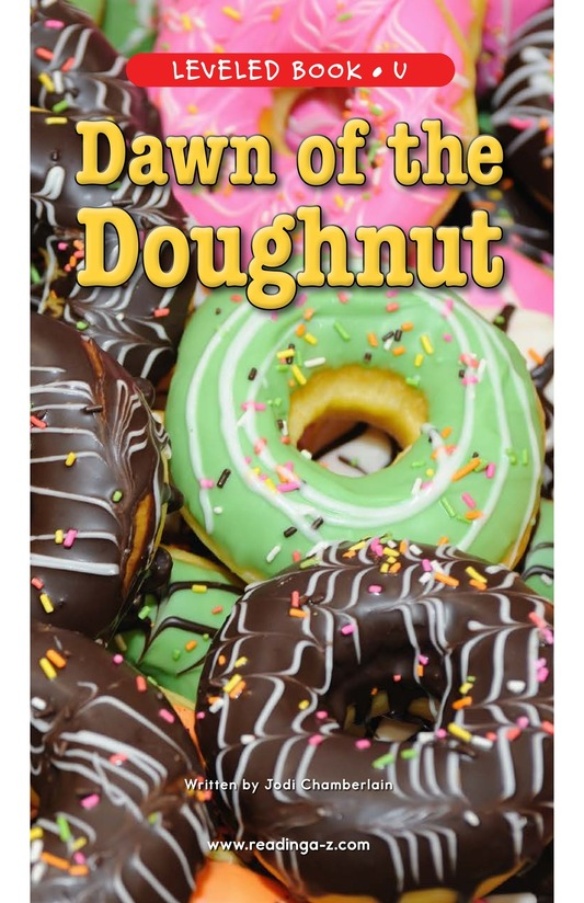 Book Preview For Dawn of the Doughnut Page 1