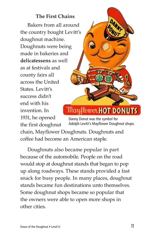 Book Preview For Dawn of the Doughnut Page 11