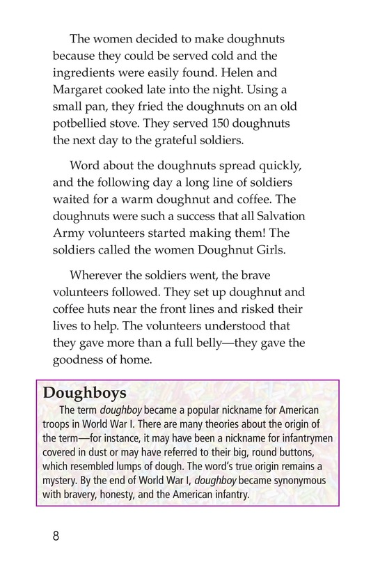 Book Preview For Dawn of the Doughnut Page 8
