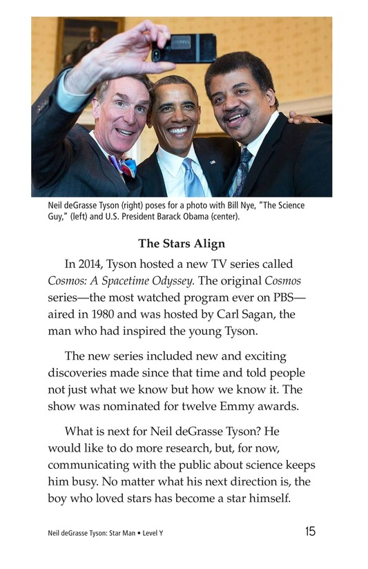 Book Preview For Neil deGrasse Tyson: Star Man Page 15