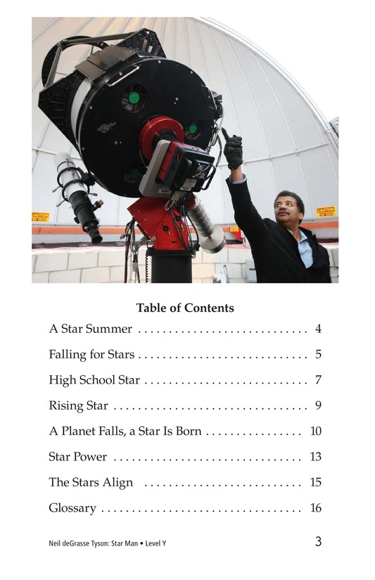 Book Preview For Neil deGrasse Tyson: Star Man Page 3