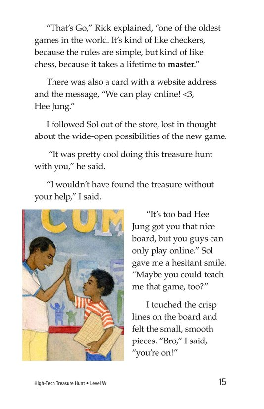 Book Preview For High-Tech Treasure Hunt Page 15
