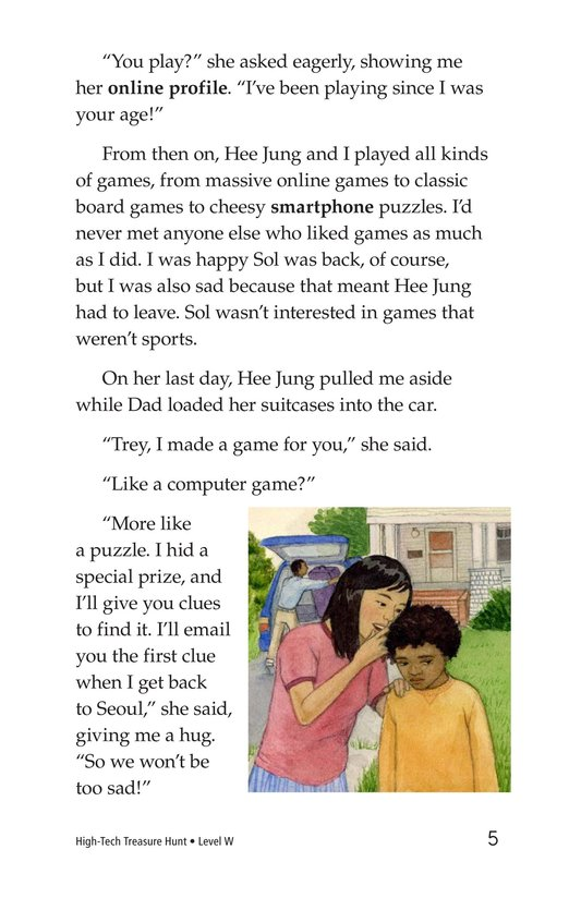 Book Preview For High-Tech Treasure Hunt Page 5