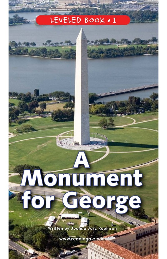 Book Preview For A Monument for George Page 1