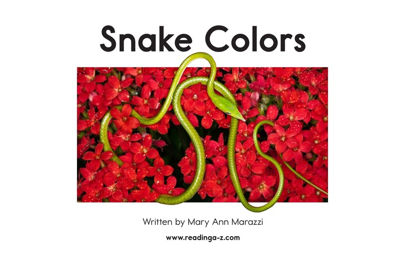 Book Preview For Snake Colors Page 2