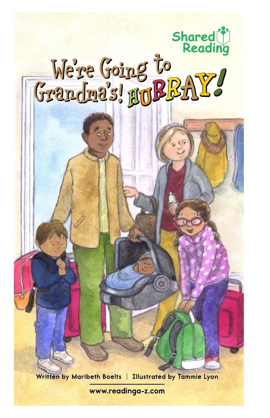 Book Preview For We're Going to Grandma's! Hurray! Page 1