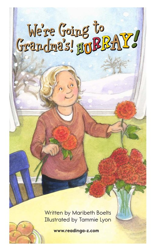 Book Preview For We're Going to Grandma's! Hurray! Page 2