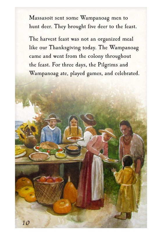 Book Preview For The First Thanksgiving Page 10