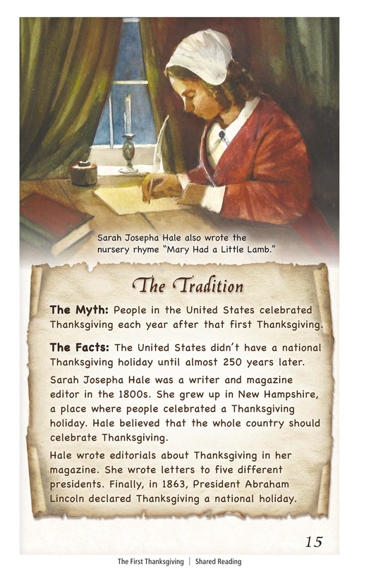 Book Preview For The First Thanksgiving Page 15