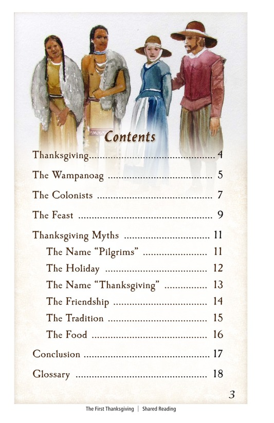 Book Preview For The First Thanksgiving Page 3