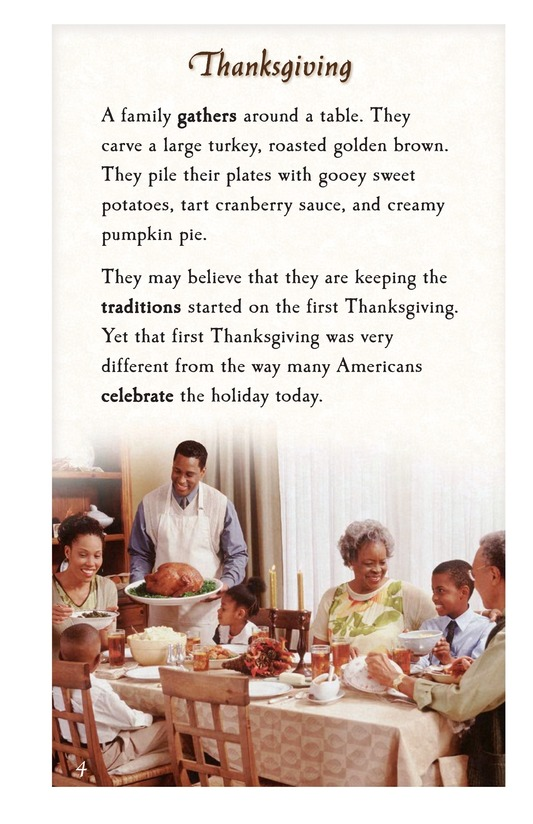 Book Preview For The First Thanksgiving Page 4