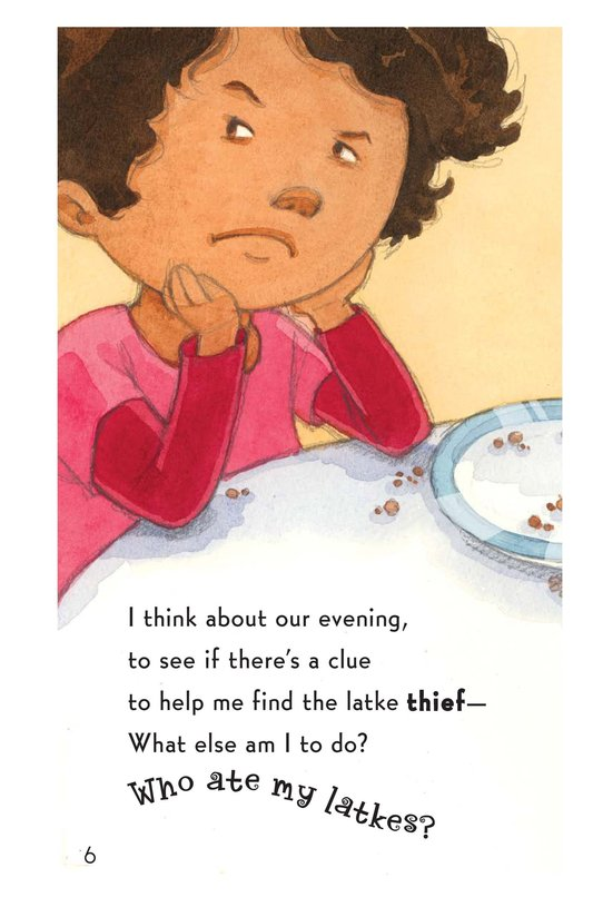 Book Preview For Who Ate My Latkes? Page 6