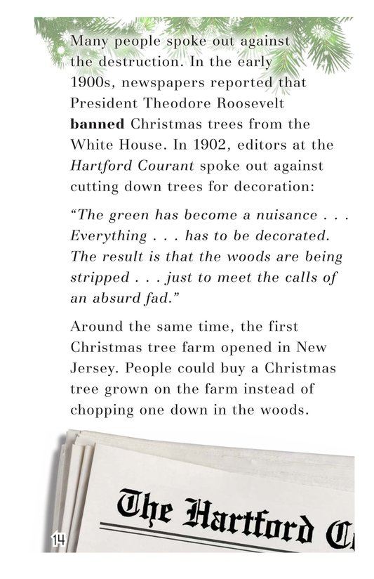 Book Preview For Oh Christmas Tree! Page 14