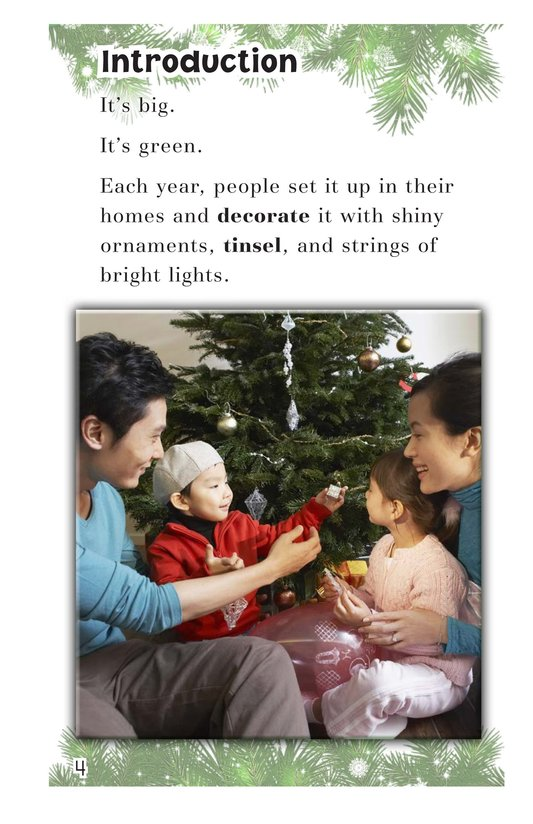 Book Preview For Oh Christmas Tree! Page 4