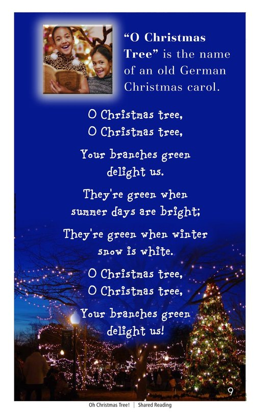 Book Preview For Oh Christmas Tree! Page 9