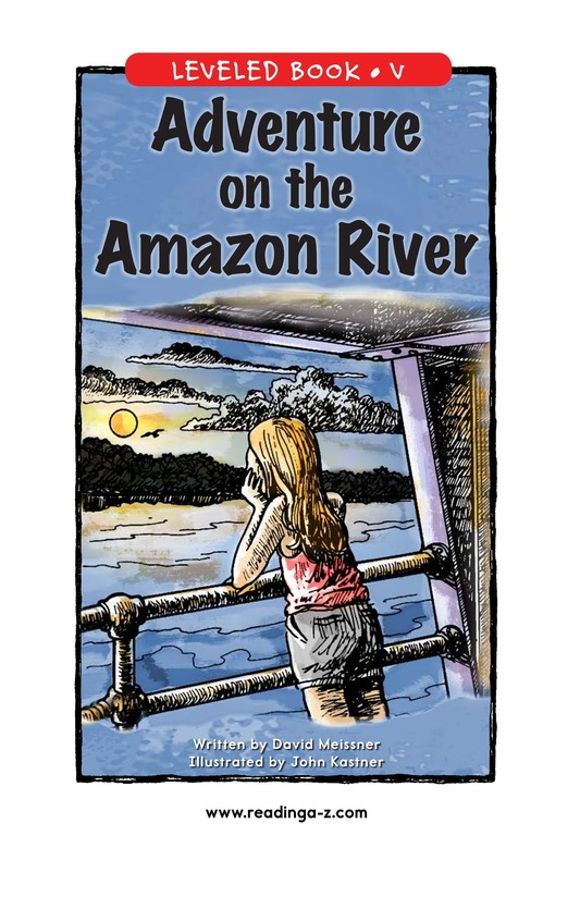 Book Preview For Adventure on the Amazon River Page 1