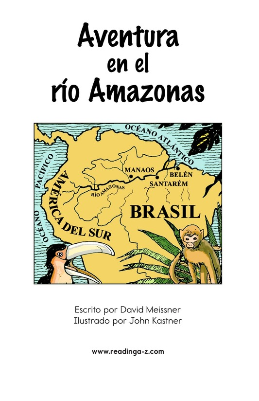Book Preview For Adventure on the Amazon River Page 2