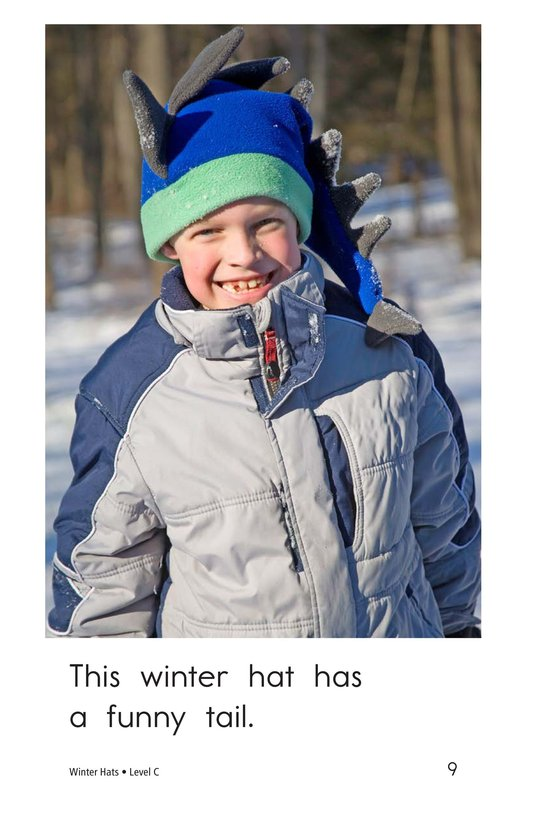 Book Preview For Winter Hats Page 9