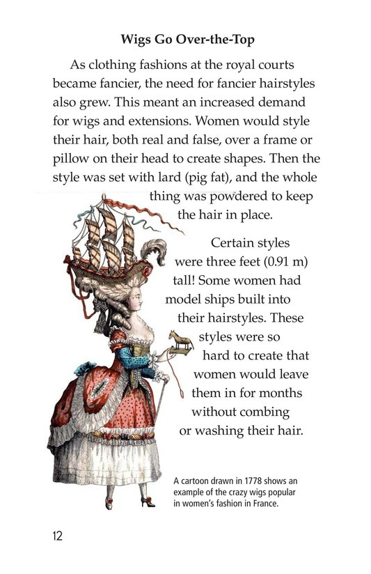 Book Preview For Wild and Wacky World of Wigs Page 12