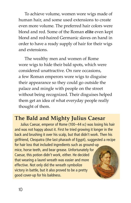 Book Preview For Wild and Wacky World of Wigs Page 10