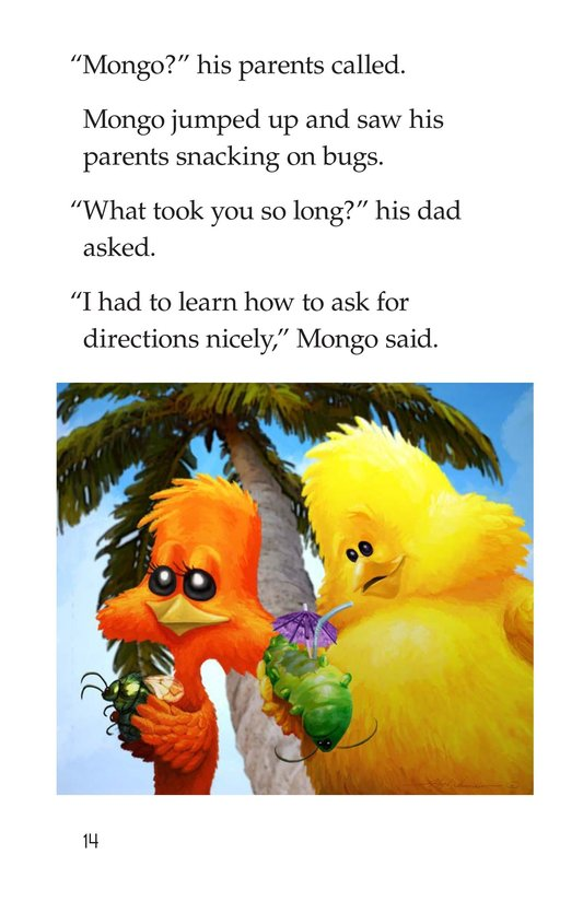 Book Preview For Mongo's Migration Page 14