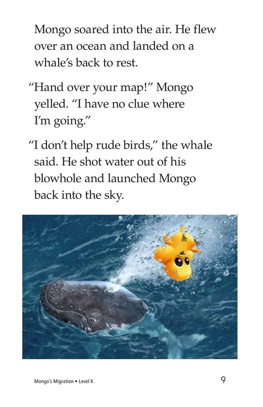 Book Preview For Mongo's Migration Page 9