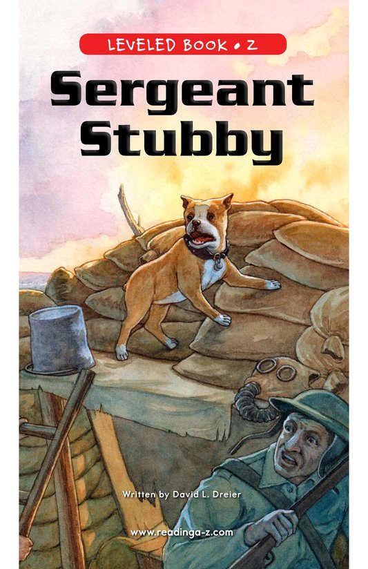 Book Preview For Sergeant Stubby Page 1