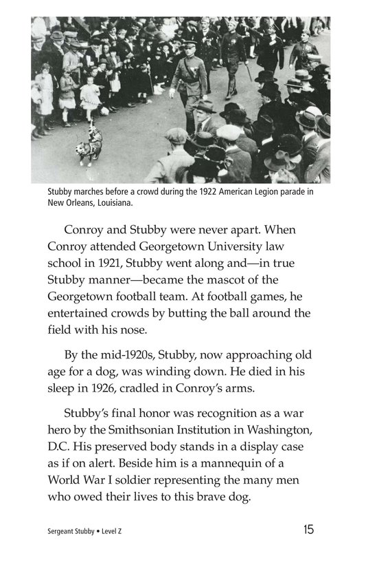 Book Preview For Sergeant Stubby Page 15