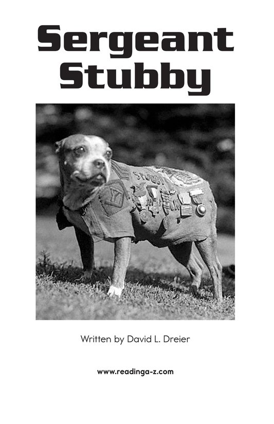 Book Preview For Sergeant Stubby Page 2