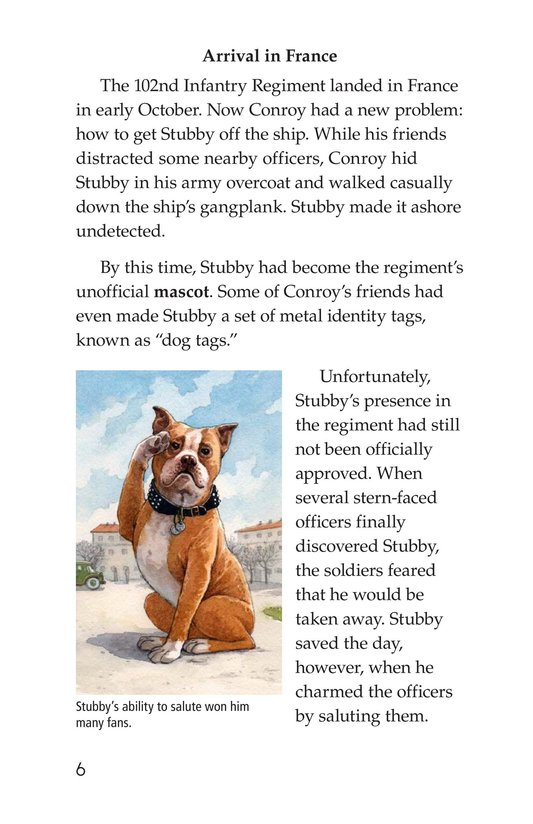Book Preview For Sergeant Stubby Page 6