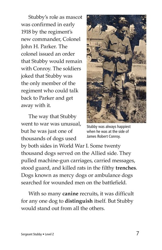 Book Preview For Sergeant Stubby Page 7