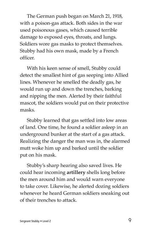 Book Preview For Sergeant Stubby Page 9