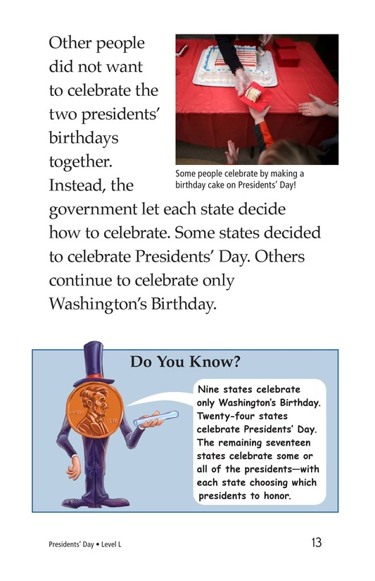 Book Preview For Presidents' Day Page 13