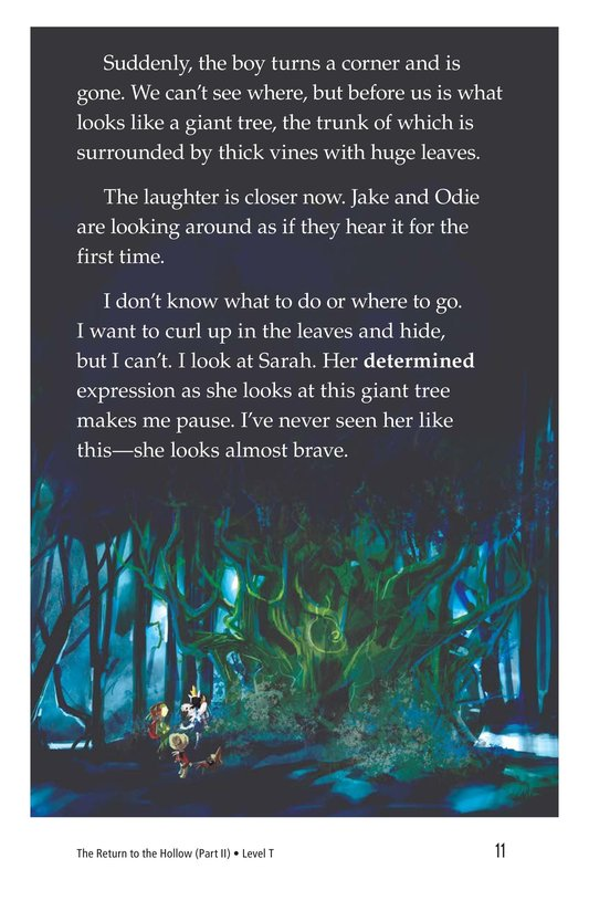 Book Preview For The Return to the Hollow (Part II) Page 11