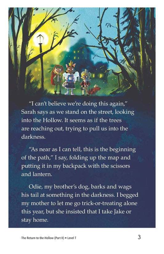 Book Preview For The Return to the Hollow (Part II) Page 3