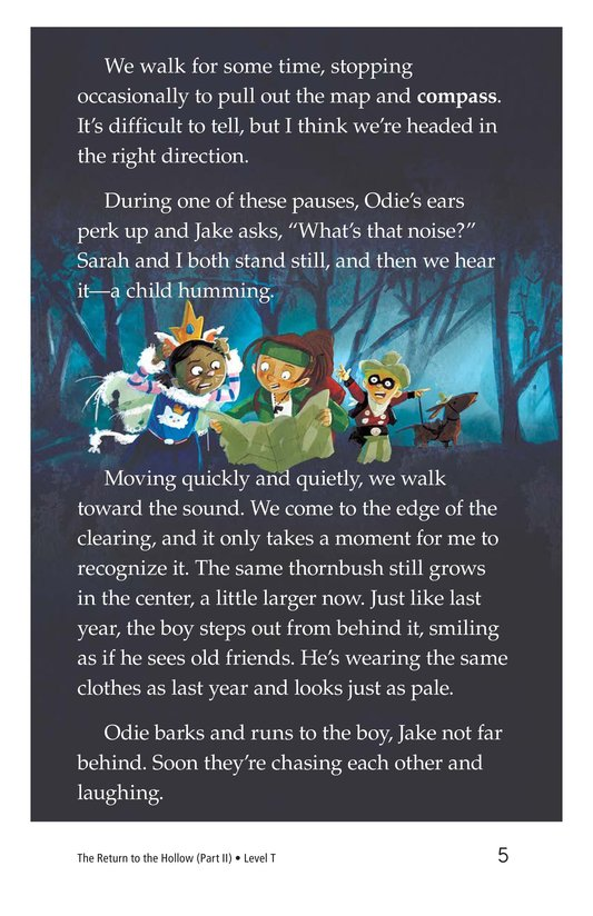 Book Preview For The Return to the Hollow (Part II) Page 5