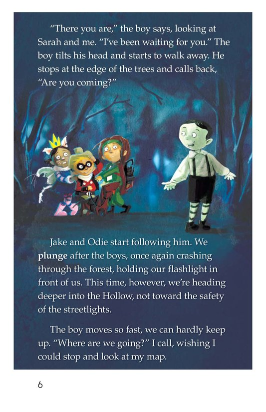 Book Preview For The Return to the Hollow (Part II) Page 6