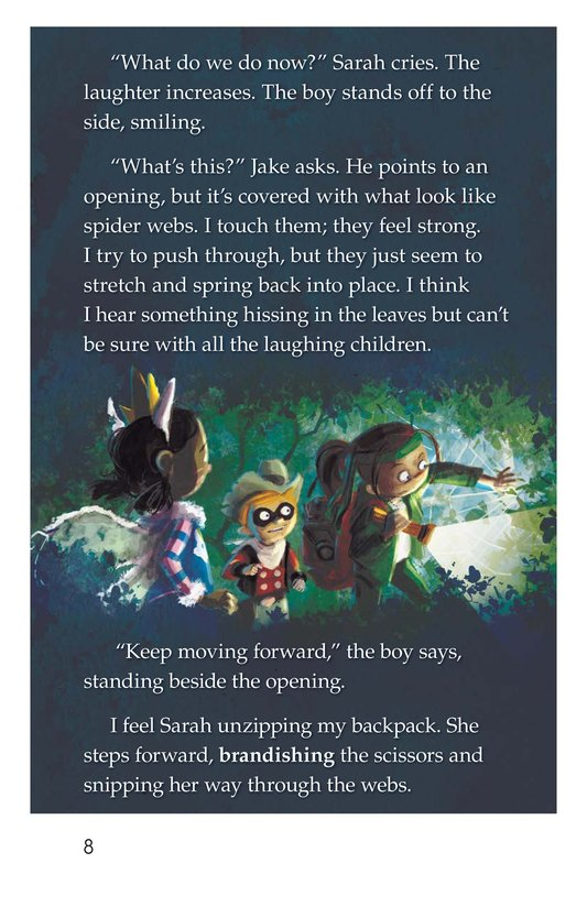 Book Preview For The Return to the Hollow (Part II) Page 8