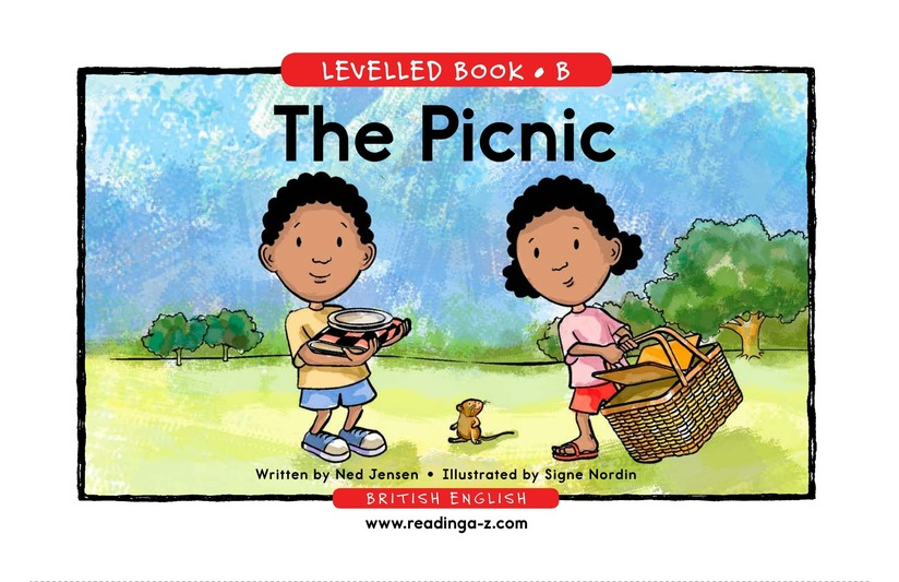 Book Preview For The Picnic Page 1