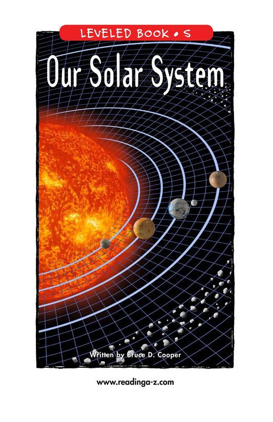 Book Preview For Our Solar System Page 1