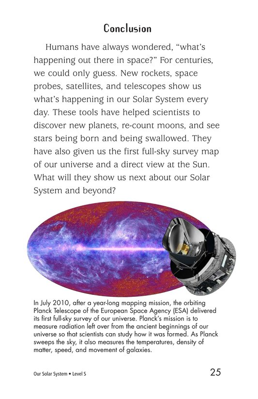 Book Preview For Our Solar System Page 25