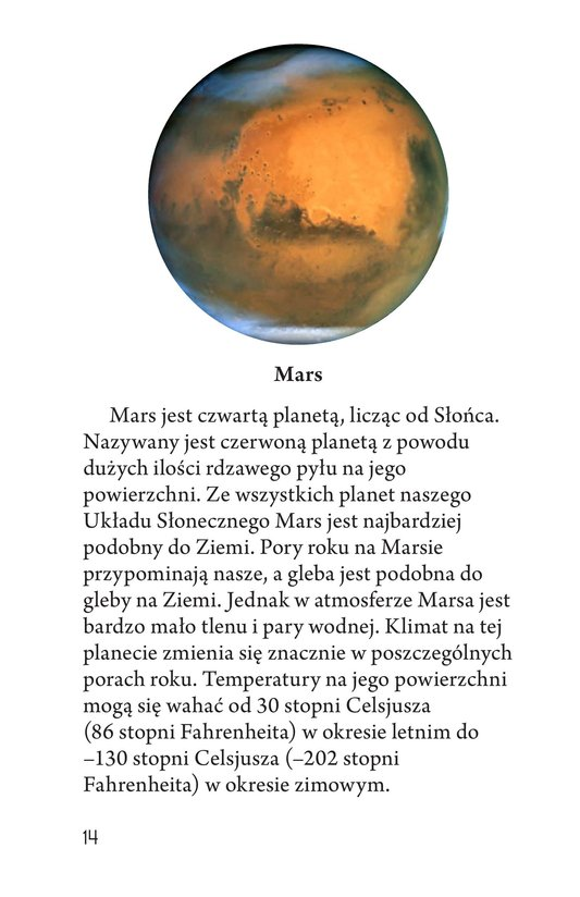 Book Preview For Our Solar System Page 14
